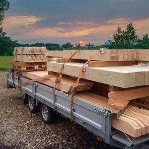 Eikenhouten bouwpakketten